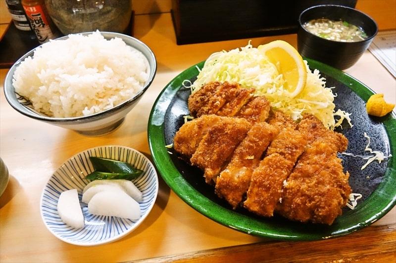 【デカ盛り】『とんかつ春』特ロース定食とかスペシャル定食が美味しい件@相模原【閉