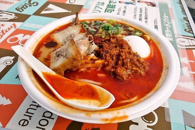 【頂上ラーメン爆うま!!】蒙古タンメン中本のコラボを食べに行ってみた@東京ラーメンショー2018
