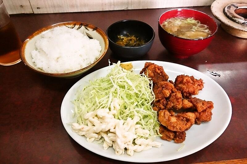 【朝定食】『大さ和』で鶏の唐揚げ的な定食を食す!@相模が丘【日産自動車座間工場】