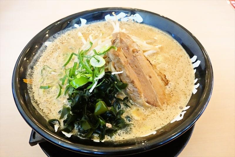 『北海道らーめん味噌ノ頂』で濃厚味噌らーめん的なラーメンを食す@相模原
