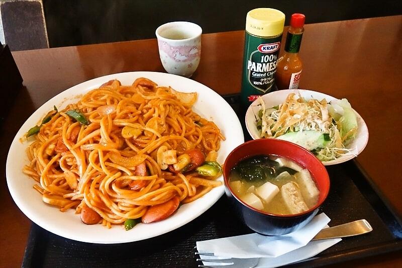 """【デカ盛り】『横浜食堂』で""""昔ながらのナポリタン""""のメガ盛りを食す!@相模原【ラン"""