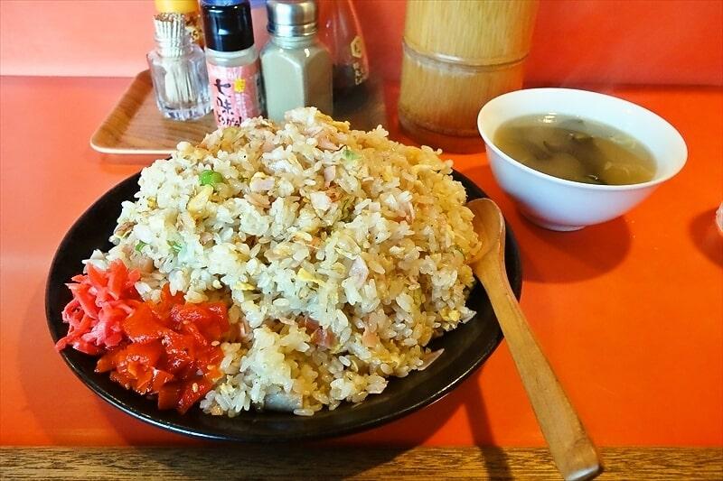 デカ盛り!町田の『バンブー』チャーハン特盛りが一番美味しい可能生