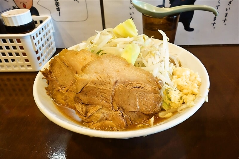 【G系】『麺屋 歩夢』でミニラーメンのボリューム感を確かめてみた【豚星。】