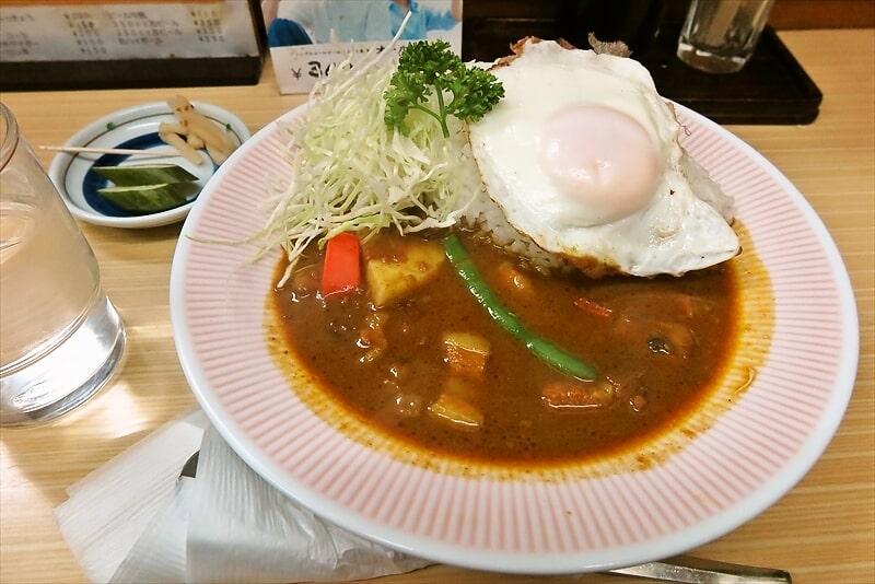 """リッチなカレーの『アサノ』で""""リッチなエッグカレー""""を食す!@町田"""