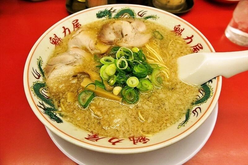 京都北白川ラーメン『魁力屋』で特製醤油ラーメン並を食べる@相模原