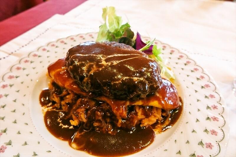 レストラン『ラピュタ』でハンバーグオムライスを食べる日@愛川町