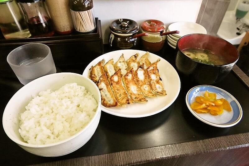 『ラーメン心心』で餃子定食を食べたら500円だったので神認定@相模原