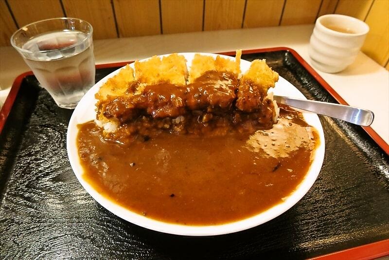 オダサガの『朱鞠』でカツカレー大盛り750円を食す!@座間市