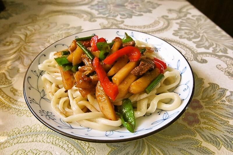 """ウイグル料理『天山』で""""ラグメン""""を食べてみたら美味かった@相模原"""