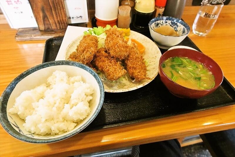 『飯野屋』でカキフライ的な定食を食べたら美味しかったので御報告@相模原