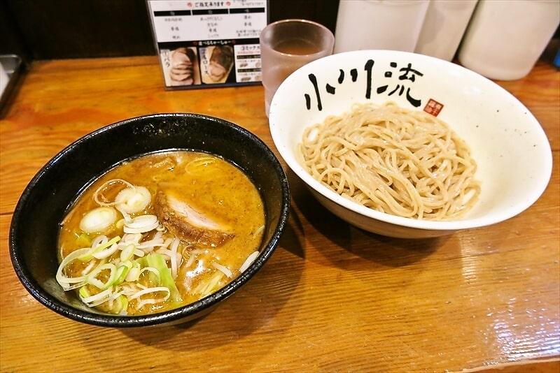 """『小川流』町田ジョルナ店がオープンしたので""""味噌つけ麺""""を食べ(略"""