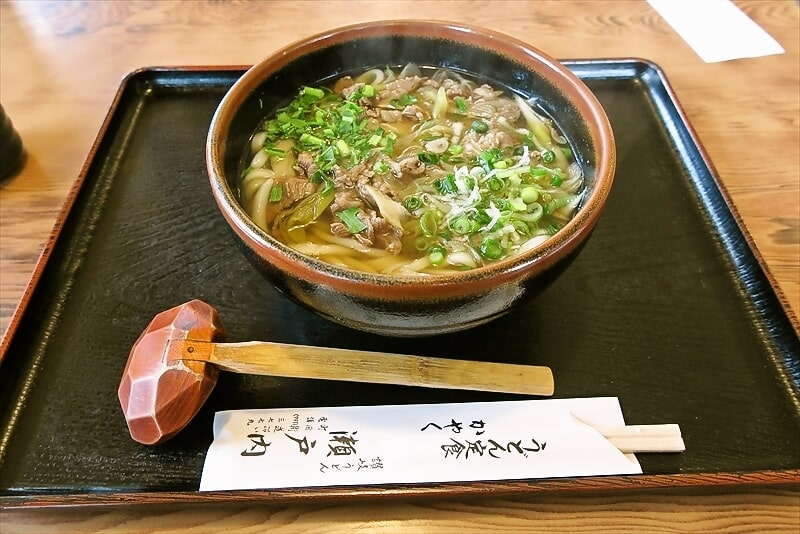 『瀬戸内』の肉うどんが美味しいので食べてみて欲しい@町田