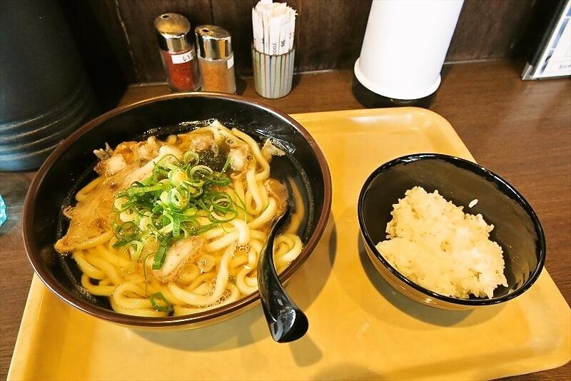【KASUYA】かすうどん大盛り&無料ライスでどうでしょう?@町田【加寿屋】