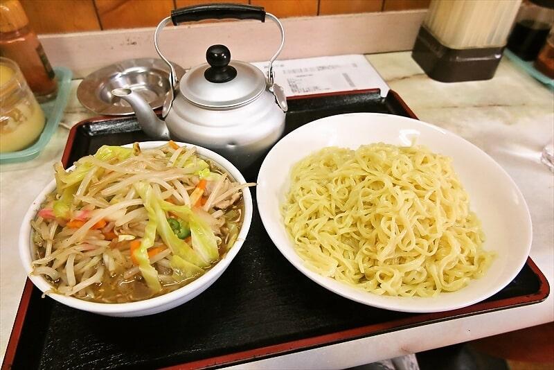 【丸長のれん会】中華そば『丸龍』特製野菜つけ麺大盛り的な何か@相模原