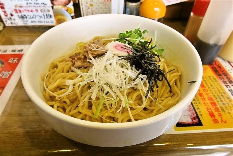 【デカ盛り】『武蔵堂』まぜそば特盛り(麺3玉)食べたら旨かった件@町田