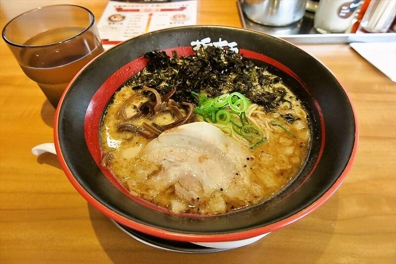 替玉50円!『哲麺 縁』相模原店でラーメン食べる