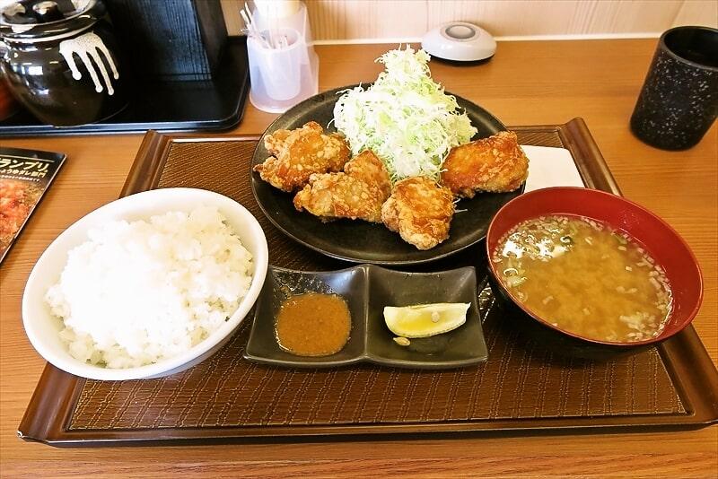 『から好し』から好し定食的な鶏の唐揚げを食べる@相模原