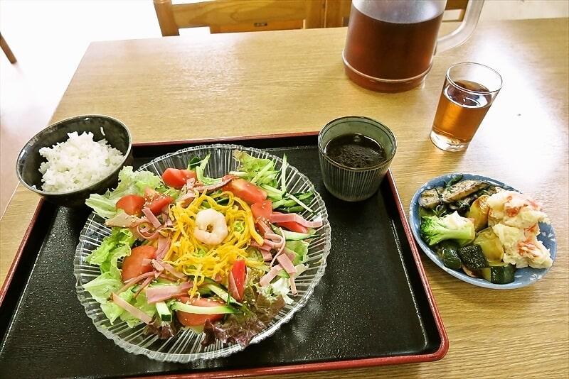 総菜食べ放題な『谷際屋』で冷やし中華的なランチ!@町田