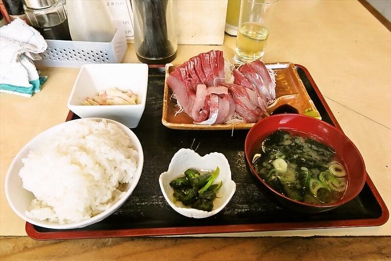 『食事処 禅』天然ぶり刺身定食600円は神コスパ!@相模原