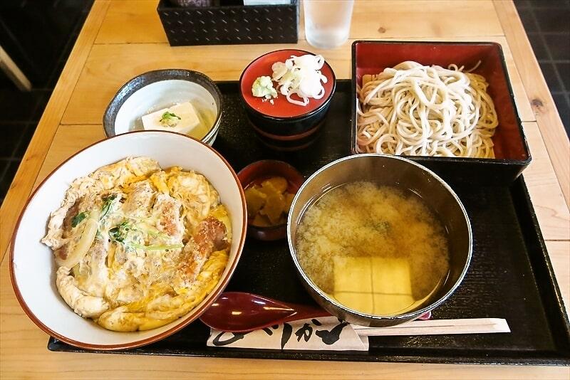 相模原に住まうなら『長寿庵』のカツ丼と蕎麦は食べるべき@田名