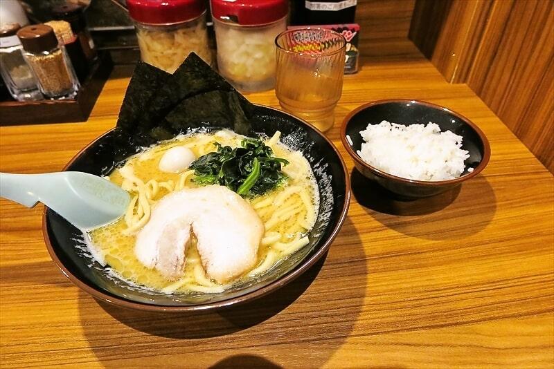 毎月1日は壱角家の日!家系ラーメン500円!ライス無料食べ放題!