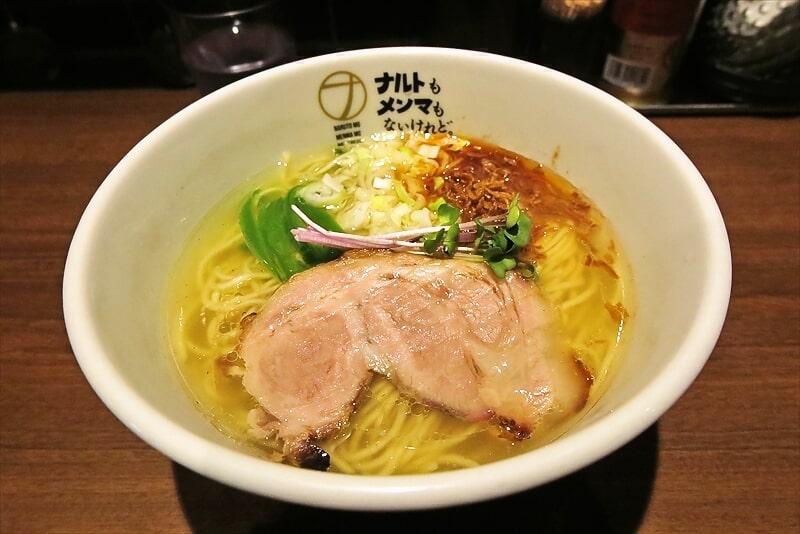 『ナルトもメンマもないけれど』塩らーめん的なラーメン食べる@横浜