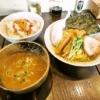 相模原『プメハナ』雲丹味噌つけ麺+追い飯セットは必食である!【閉店】
