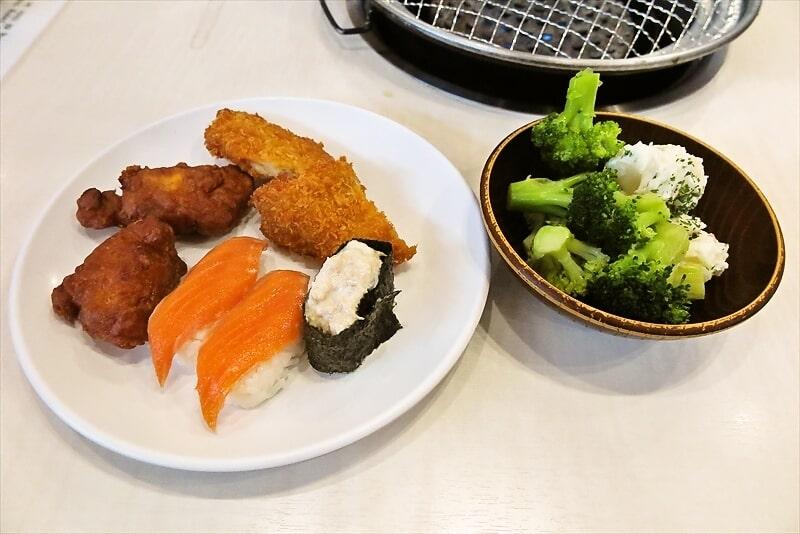 町田『すたみな太郎』90分食べ放題コースでソフトカルビとか?