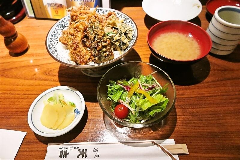 てんぷら『天吉』穴子丼ランチセットは絶対に食べるべき@横浜
