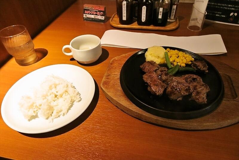 『東京トンテキ✕ステーキの王様』肉の日限定ステーキ777円を食す!