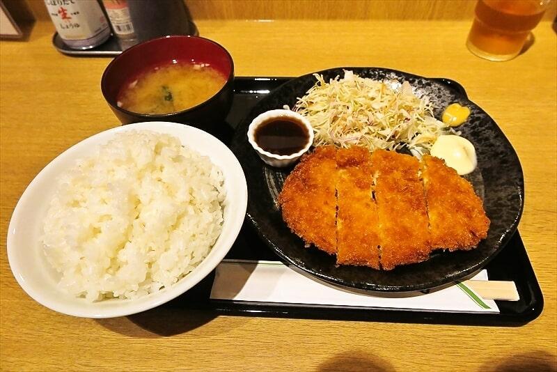 相模原『とり道楽』チキンカツ定食540円ワンチャン!