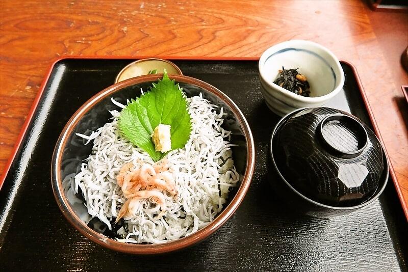 """『貝作』""""釜揚げしらす丼""""を食べに行った夏の思い出@もりサブ子"""