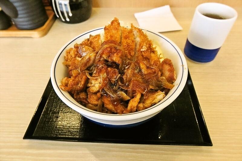 期間限定『かつや』生姜からあげだれのチキンカツ丼から揚げ大盛(2倍)