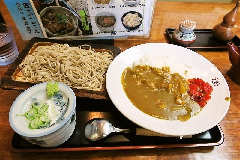 『そばどころ更科』蕎麦&カレーのセット500円ですと?@相模原