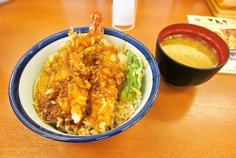 """毎月18日は""""てんやの日""""上天丼500円ですってよ!@『天丼てんや』"""