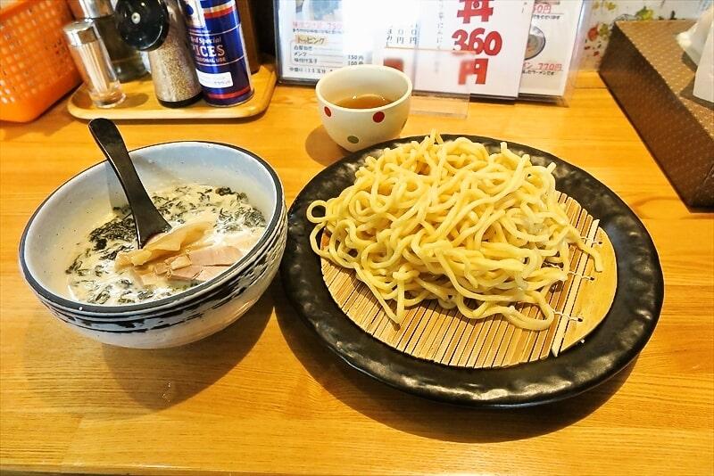 『ががちゃい』塩つけ麺が全然美味しくない件@中山