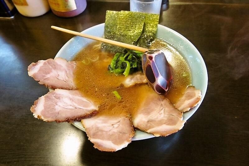 『ラーメンショップ庵庵』朝イチラーメン290円にチャーシュー350円?