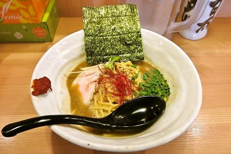 相模原『辛麺真空』真空流超濃厚鶏牡蠣ソバ的ラーメンを食す!