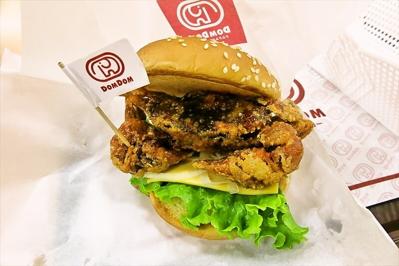 『ドムドムハンバーガー』丸ごと!!カニバーガーを実食レビュー的な!