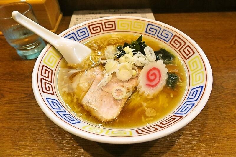 【葉月】『らーめん屋 小川』中華そば的なラーメンを食す!@相模原【細麺】
