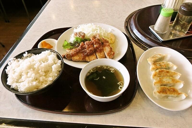 『彩門』Wステーキ定食&ランチ100円餃子でどうよ?@相模原