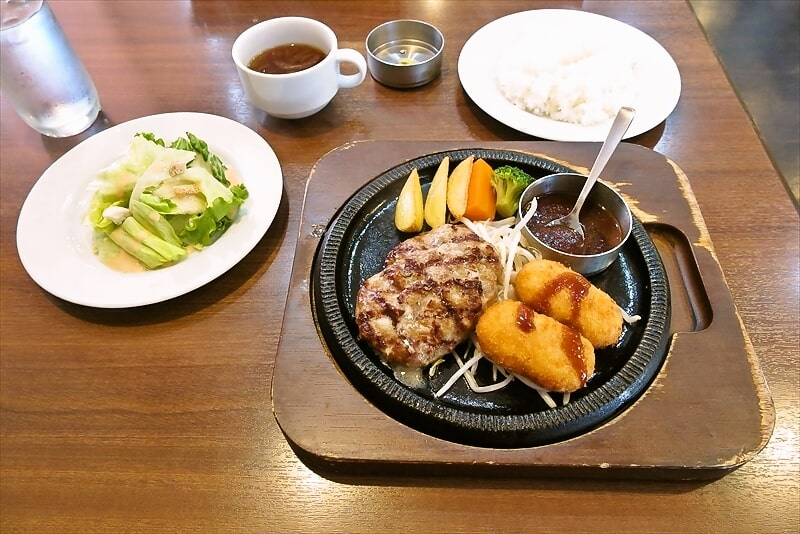 国産牛ステーキ・ハンバーグレストラン『スエヒロ館』で日替わりランチ