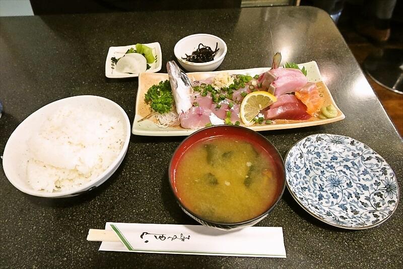 【釣り鯵】『とき』あじ姿造り定食1000円の美味しさよ@町田【アジ】