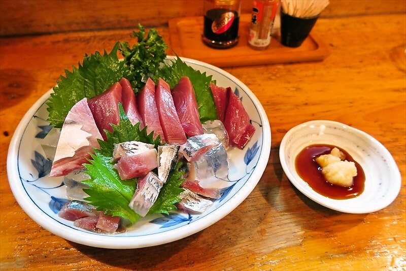 『魚がし』でカツオの刺身とウーロンハイとかどうでしょう?