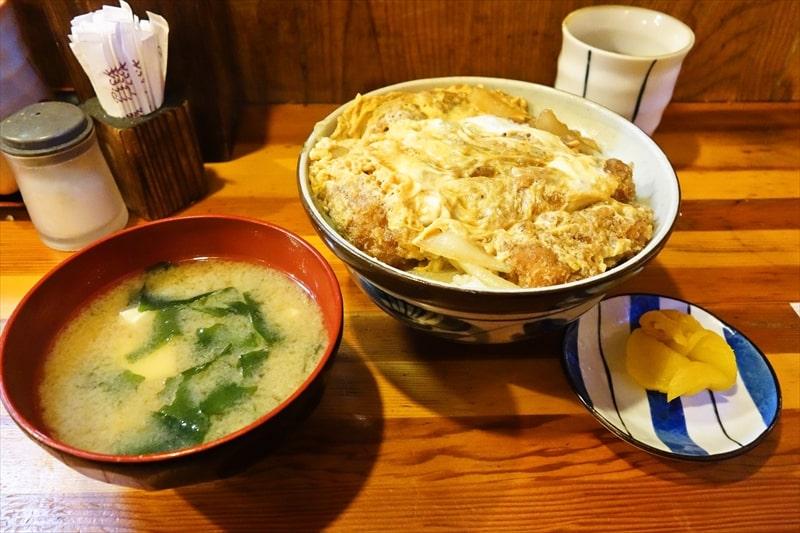 """【豚カツ】『かつてい』の""""かつ丼""""がイイ!凄くイイ!!@大和【カツ丼】"""