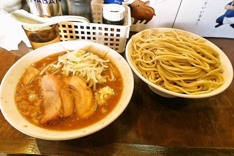 """『麺屋 歩夢』なんとなく""""大つけ麺""""デビューしてみた@ラー油抜き"""