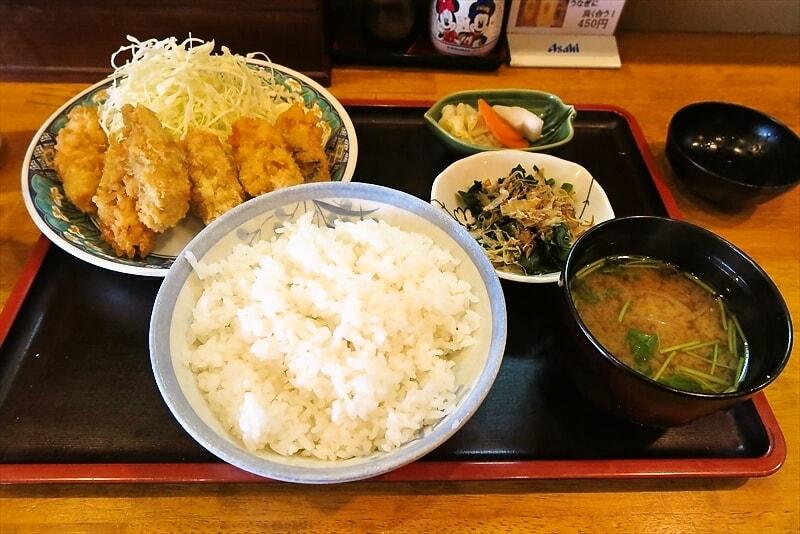 【牡蠣】相模原『いわき』カキフライ定食を食べてみた【ランチ】