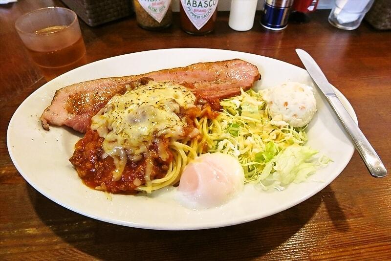 八王子『PiaPia』ミートソースデラックス的スパゲッティーを食す@ぴあぴあ