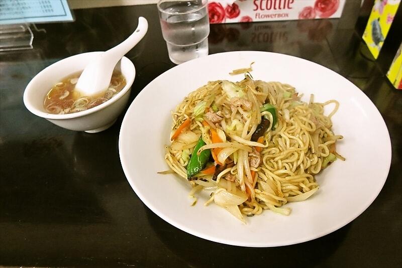 相模原『新興軒』上海ヤキソバ的な塩焼きそばを食べて来たので御報告