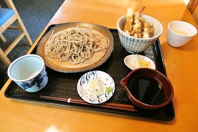 町田『初空』もりそば&ミニ天丼セット的なランチでどうでしょう?